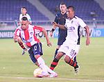 En el estadio metropolitano Roberto Meléndez de Barranquilla, Atlético Junior de Colombia goleó sin compasión 5-0 al Melgar de Arequipa, Perú, en el marco del juego de ida de la primera fase de la Copa Suramercana.