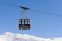 Skilift, Station H&ouml;fatsblick auf dem Nebelhorn bei Oberstdorf im Allg&auml;u, Bayern, Deutschland<br /> Ski Lift, Hillstation H&ouml;fatsblick,  Mt.Nebelhorn near Oberstdorf, Allg&auml;u, Bavaria, Germany