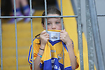 Clare Hurling fan Amy McDonnagh age 8 pictured at  the Open Training Night on Tuesday. Pic. Brian Arthur/ Press 22.Clare Hurling fan Ciara O Dell pictured at  the Open Training Night on Tuesday. Pic. Brian Arthur/ Press 22.