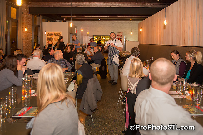 St. Louis Magazine Table Talk series at The Block in Central West End in St. Louis, MO on Nov 18, 2013.