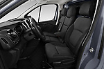 Front seat view of a 2020 Renault Trafic Grand-Confort 4 Door Cargo Van front seat car photos