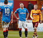 31.3.2018: Motherwell v Rangers: <br /> Dejection from Jason Cummings