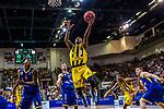 Kerron JOHNSON (#3 MHP Riesen Ludwigsburg) \Armani MOORE (#4 EWE Baskets Oldenburg) \Mickey MCCONNELL (#32 EWE Baskets Oldenburg) \Justin SEARS (#5 MHP Riesen Ludwigsburg) \ beim Spiel, MHP RIESEN Ludwigsburg - EWE Baskets Oldenburg.<br /> <br /> Foto &copy; PIX-Sportfotos *** Foto ist honorarpflichtig! *** Auf Anfrage in hoeherer Qualitaet/Aufloesung. Belegexemplar erbeten. Veroeffentlichung ausschliesslich fuer journalistisch-publizistische Zwecke. For editorial use only.