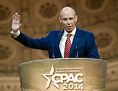 Dan Hannan, Member of the European Parliament, Alliance of European Conservatives & Reformists speaks at the Conservative Political Action Conference (CPAC) at the Gaylord National at National Harbor, Maryland on Saturday, March 8, 2014.<br /> Credit: Ron Sachs / CNP