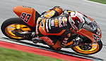 KUALA LUMPUR, MALAYSIA - OCTOBER 24: Red Bull KTM Moto Sport rider Marc Marquez of Spain steers his 125cc bike to took the pole position during quallfying for the Malaysian MotoGP, which is round 16 of the MotoGP World Championship at the Sepang Circuit on October 24, 2009 in Kuala Lumpur, Malaysia.  Photo by Victor Fraile / The Power of Sport Images