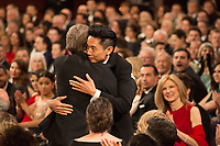 Kazuhiro Tsuji accepts the Oscar&reg; for Achievement in makeup, for work on &ldquo;Darkest Hour&rdquo; during the live ABC Telecast of The 90th Oscars&reg; at the Dolby&reg; Theatre in Hollywood, CA on Sunday, March 4, 2018.<br /> *Editorial Use Only*<br /> CAP/PLF/AMPAS<br /> Supplied by Capital Pictures