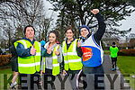 Enjoying the Parkrun on Saturday for  RTE  Operation Transformation were Tim Moynihan, Helen Griffin, Sandra Lynch and Padraig O'Sullivan Garvey's