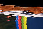 """""""Break Through"""", water reflection, Lake Tahoe, California"""