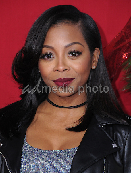 "03 November 2016 - Westwood, California. Bresha Webb. Premiere Of Universal's ""Almost Christmas"" held at Regency Village Theatre. Photo Credit: Birdie Thompson/AdMedia"