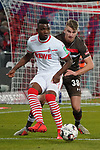 08.02.2019, RheinEnergieStadion, Koeln, GER, 2. FBL, 1.FC Koeln vs. FC St. Pauli,<br />  <br /> DFL regulations prohibit any use of photographs as image sequences and/or quasi-video<br /> <br /> im Bild / picture shows: <br /> Jhon Córdoba (FC Koeln #15),   im Zweikampf gegen  Florian Carstens (St Pauli #38), <br /> <br /> Foto © nordphoto / Meuter