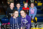 At the Annual KDYS/Garda basketball blitz at Castleisland Community Centre on Friday were Clodagh Swanson, Ellie Lenihan Back l-r Katie O'Connor, Mary Ann Fleming, Ava Fitzmaurice, Rachel O'Sullivan