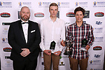 Junior Sportsmen of the Year, Sam Menzies (L) and Blake McGlashon. Harbour Sport Awards, Spencer on Byron Hotel, Auckland, Friday 15  November 2019. Photo: Simon Watts/www.bwmedia.co.nz