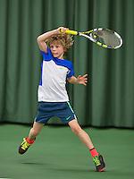 Rotterdam, The Netherlands, March 11, 2016,  TV Victoria, , NOJK 12/16 years,    Mats Bredschneijder (NED) <br /> Photo: Tennisimages/Henk Koster