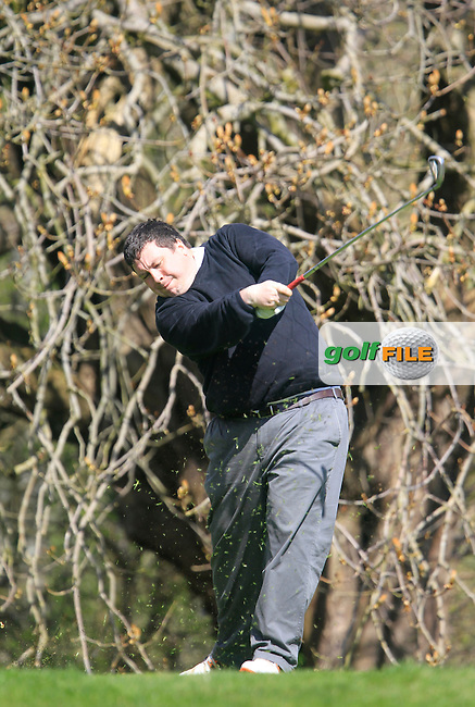Paul O'Connor (Malahide) during the Headfort Scratch Cup, Kells, Co Meath 21/4/13.Picture: Thos Caffrey www.golffile.ie...