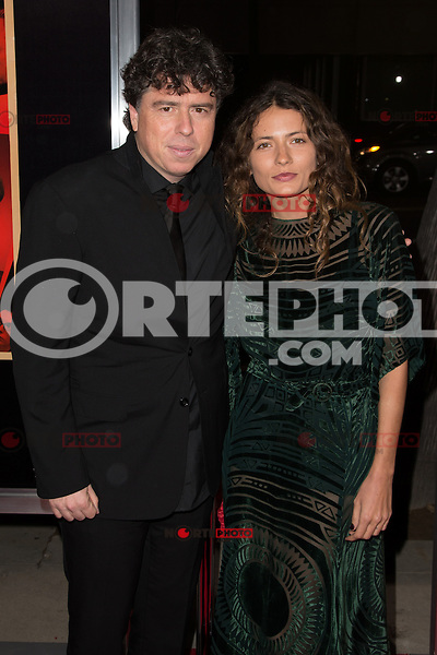"""November 20, 2012 - Beverly Hills, California - Sacha Gervasi and Karina Deyko at the """"Hitchcock"""" Los Angeles Premiere held at the Academy of Motion Picture Arts and Sciences Samuel Goldwyn Theater. Photo Credit: Colin/Starlite/MediaPunch Inc"""