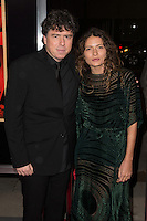 "November 20, 2012 - Beverly Hills, California - Sacha Gervasi and Karina Deyko at the ""Hitchcock"" Los Angeles Premiere held at the Academy of Motion Picture Arts and Sciences Samuel Goldwyn Theater. Photo Credit: Colin/Starlite/MediaPunch Inc"