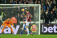 Marko Arnautovic Of West Ham United shoots during West Ham United vs Cardiff City, Premier League Football at The London Stadium on 4th December 2018