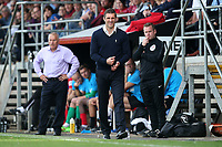 Wrexham manager Sam Ricketts during Dagenham & Redbridge vs Wrexham, Vanarama National League Football at the Chigwell Construction Stadium on 13th October 2018