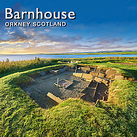 Barn house Neolithic Village - Orkney - Pictures Images Photos