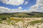 Samaria, Sebastie, the 2nd century theatre of the Roman city Sebaste