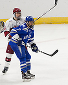 Ryan Donato (Harvard - 16), Matt Koch (AFA - 7) - The Harvard University Crimson defeated the Air Force Academy Falcons 3-2 in the NCAA East Regional final on Saturday, March 25, 2017, at the Dunkin' Donuts Center in Providence, Rhode Island.