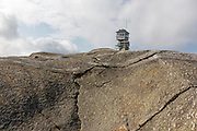 Mt Cardigan State Park - Cardigan Mountain Tower on Cardigan Mountain in Orange , New Hampshire USA. This fire tower was in operation from 1924-present