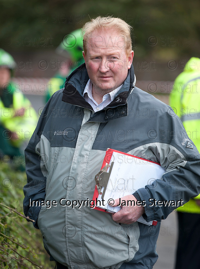 Alex Benson boss of Meadowhead Ltd who owns Benston Cottage in West Barns, East Lothian, severely damaged after being hit by a bus that crashed into it after colliding with a car. The property was unrented and unoccupied at the time, undergoing renovation.