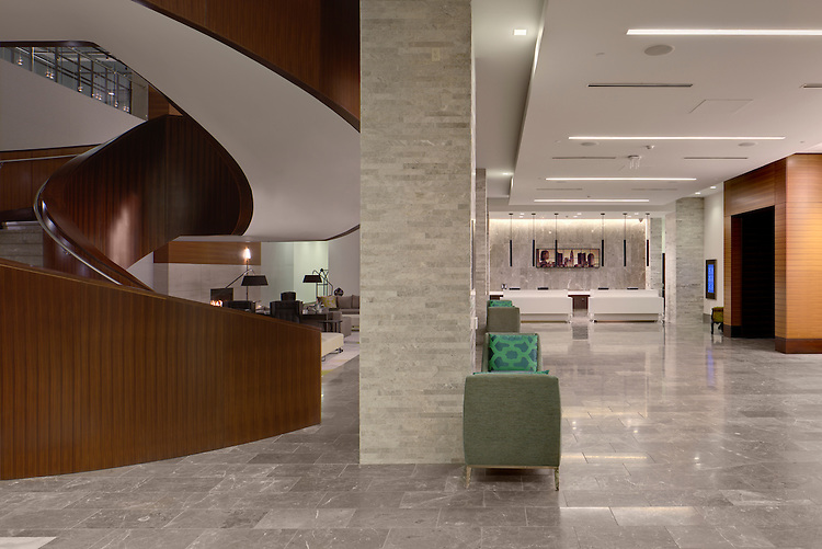 Hilton Downtown Columbus | Architects: HOK & Moody Nolan | Construction: Turner Construction & Smoot Construction