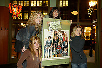 Montreal (Qc) CANADA - December 2007 file photo-<br /> -Anne Cassabonne,<br /> -Brigitte Lafleur<br /> -GeneviZvre Rochette,<br /> -Helene Florent,<br /> <br /> , at the<br /> launch of La galere (TV) DVD.<br /> <br /> <br /> Alliance Vivafilm, Productions RCB inc.,et Cirrus ont lanc&Egrave; mercredi 5 d&Egrave;cembre le coffret DVD de la premiZre saison de la s&Egrave;rie &acute; La GalZre C, diffus&Egrave;e sur les ondes de Radio-Canada. Ont particip&Egrave; ? ce lancement : lOauteure Ren&Egrave;e-Claude Brazeau, la r&Egrave;alisatrice Sophie Lorain, et la plupart des com&Egrave;diennes et com&Egrave;diens dont Anne Casabonne, H&Egrave;lZne Florent, Brigitte Lafleur et GeneviZvre Rochette.<br /> <br /> photo (c) Pierre Roussel- Images Distribution