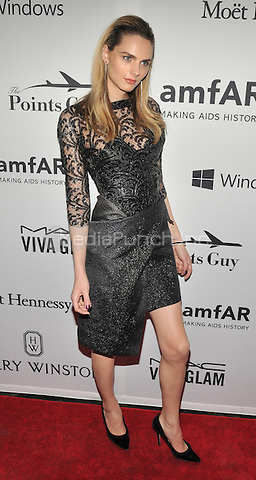 NEW YORK, NY - JUNE 9: Andreja Pejic attends the 7th Annual amfAR Inspiration Gala at Skylight at Moynihan Station on June 9, 2016 in New York City.. Credit: John Palmer / MediaPunch