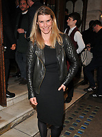 Kim Tiddy at the &quot;Quiz&quot; press night, Noel Coward Theatre, St Martin's Lane, London, England, UK, on Tuesday 10 April 2018.<br /> CAP/CAN<br /> &copy;CAN/Capital Pictures