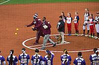 Super Bulldog Weekend Softball vs. LSU.<br /> (photo by Russ Houston / &copy; Mississippi State University)