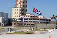 HAVANA, CUBA, 23.07.2015 –  Vista do bairro Vedado na cidade de Havana em Cuba. (Foto: Paulo Lisboa/Brazil Photo Press)