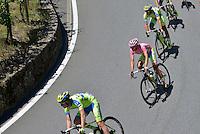 Picture by Pier Maulini/SWpix.com 27/05/2015 Cycling - Giro d'Italia - 27/05/2015 - Stage Seventeen - Tirano - Lugano ( Switzerland )<br /> copyright picture - Simon Wilkinson - simon@swpix.com<br /> Tirano - Lugano (Ch)<br /> Alberto Contador