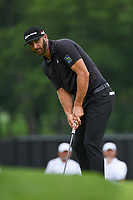 Dustin Johnson (USA) watches his putt on 1 during Rd3 of the 2019 BMW Championship, Medinah Golf Club, Chicago, Illinois, USA. 8/17/2019.<br /> Picture Ken Murray / Golffile.ie<br /> <br /> All photo usage must carry mandatory copyright credit (© Golffile   Ken Murray)