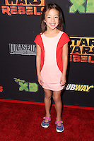 "Aubrey Anderson-Emmons<br /> at the premiere of ""Star Wars Rebels,"" AMC Century City, Century City, CA 09-27-14<br /> David Edwards/DailyCeleb.com 818-915-4440"