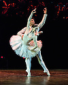 """Sadler's Wells presents """"Carlos Acosta: The Classical Farewell"""", at the Royal Albert Hall. Picture shows: Carlos Acosta and Marianela Nunez dancing a pas de deux from Don Quixote, choreographed by Marius  Petipa and Carlos Acosta."""