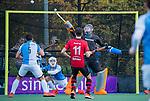 ZEIST-  Keeper Daan Wisselink (Hurley)  promotieklasse hockey heren, Schaerweijde-Hurley (4-0)  COPYRIGHT KOEN SUYK