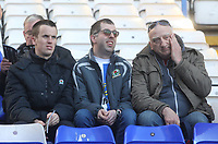 Blackburn Rovers Fans<br /> <br /> Photographer Mick Walker/CameraSport<br /> <br /> The EFL Sky Bet Championship - Birmingham City v Blackburn Rovers - Saturday 23rd February 2019 - St Andrew's - Birmingham<br /> <br /> World Copyright © 2019 CameraSport. All rights reserved. 43 Linden Ave. Countesthorpe. Leicester. England. LE8 5PG - Tel: +44 (0) 116 277 4147 - admin@camerasport.com - www.camerasport.com