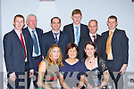 Cordal GAA representatives at the East Kerry All Stars in the INEC on Friday night front row l-r: Katie Walsh-O'Donoghue, Elaine O'Donoghue, mary Nolan. Back row: Tim, Eamon O'Donoghue, Onie Nolan, Eamon John O'Donoghue, Danny McAulliffe and James O'Donoghue