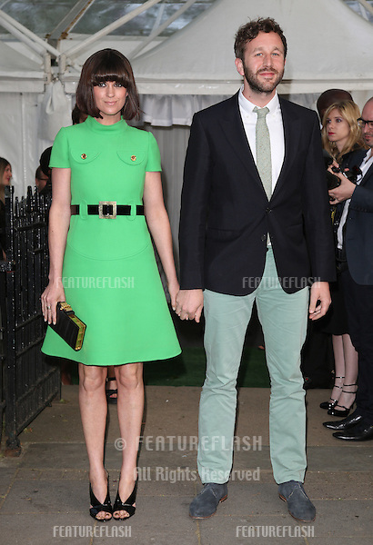 Dawn Porter and Chris O'Dowd arriving for the Glamour Women Of The Year Awards 2012, at Berkeley Square, London. 29/05/2012 Picture by: Alexandra Glen / Featureflash