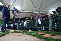 BRASILIA, DF, 20.11.2018 - BOLSONARO-CCBB-   Sérgio Moro, provável futuro ministro da Justiça, durante entrevista no  CCBB, onde ocorre a transição do Governo, nesta terça, 20.(Foto:Ed Ferreira / Brazil Photo Press)