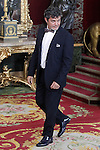 Spanish singer Alejandro Sanz during the reception at the Royal Palace after the King's official coronation at the parliamen. June 19 ,2014. (ALTERPHOTOS/Pool)