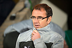 St Johnstone v Hibs..28.11.12      SPL.Hibs boss Pat Fenlon.Picture by Graeme Hart..Copyright Perthshire Picture Agency.Tel: 01738 623350  Mobile: 07990 594431
