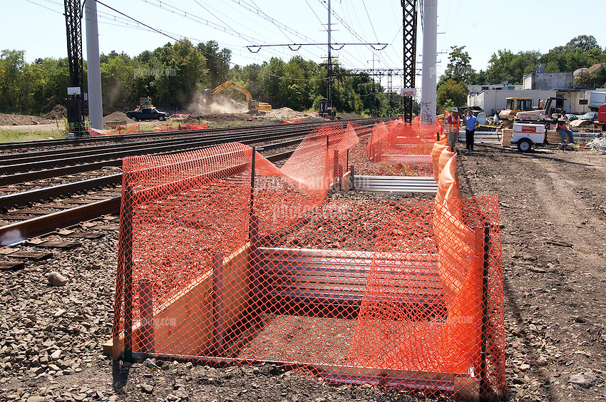 Construction Progress Photography of the Railroad Station at Fairfield Metro Center. Second Site Visit of once per month periodic photography coverage of the entire project. Primary Contractor: The Middlesex Corporation, Littleton, MA. Owner: Connecticut Department of Transportation. Serving Metro-North Commuter Railroad.
