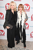 Sherrie Hewson &amp; Amanda Barrie at the TV Choice Awards 2017 at The Dorchester Hotel, London, UK. <br /> 04 September  2017<br /> Picture: Steve Vas/Featureflash/SilverHub 0208 004 5359 sales@silverhubmedia.com