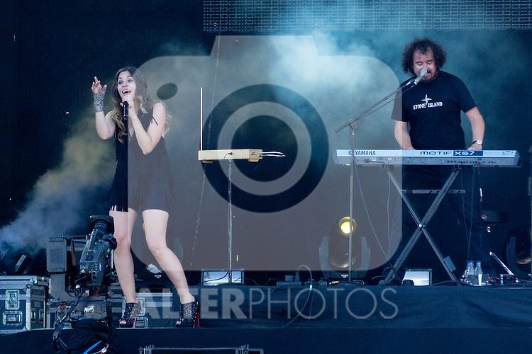 30.06.2012. Concert ´La Oreja de Van Gogh´ during Rock in Rio Festival 2012 in Madrid. (Alterphotos/Marta Gonzalez)