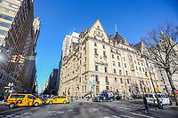 NOVA YORK, EUA, 19.12.2018 - TURISMO-EUA - Vista do edificio Dakota em Nova York nos Estados Unidos nesta quarta-feira, 19. No local morou o musico John Lennon. (Foto: William Volcov/Brazil Photo Press)