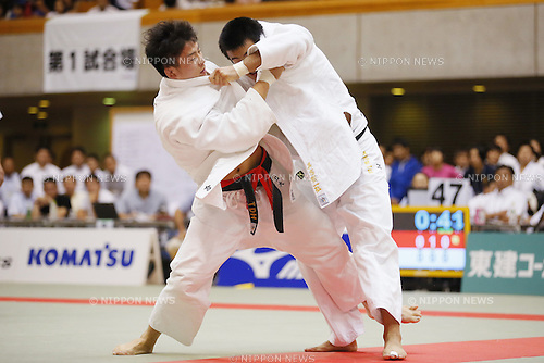 Shoichiro Mukai, September 14, 2014 - Judo : All Japan Junior Judo Championships Men's -90kg Final at Saitama Prefectural Budokan, Saitama, Japan. (Photo by Yusuke Nakanishi/AFLO SPORT) [1090]