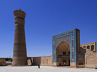Kalon Moschee und Minarett, Buchara, Usbekistan, Asien, UNESCO-Weltkulturerbe<br />